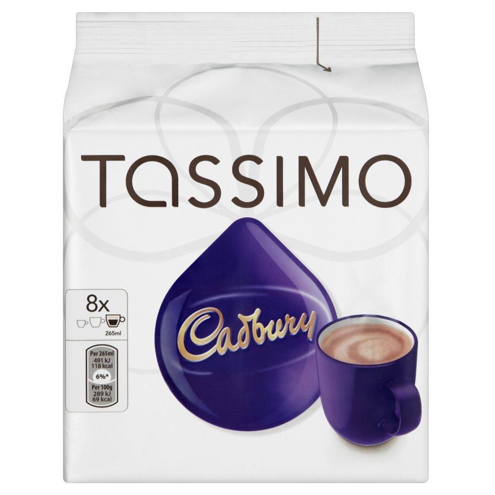 Sarahs Coffee Company - Tassimo 3pk Costa Cappuccino, Costa Latte and Cadbury